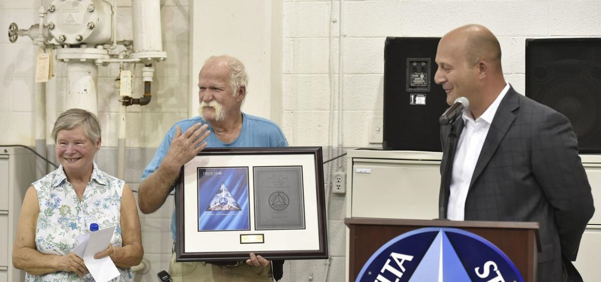 Delta Star honors first employee with 50 years of service at Lynchburg facility transformer technology magazine news