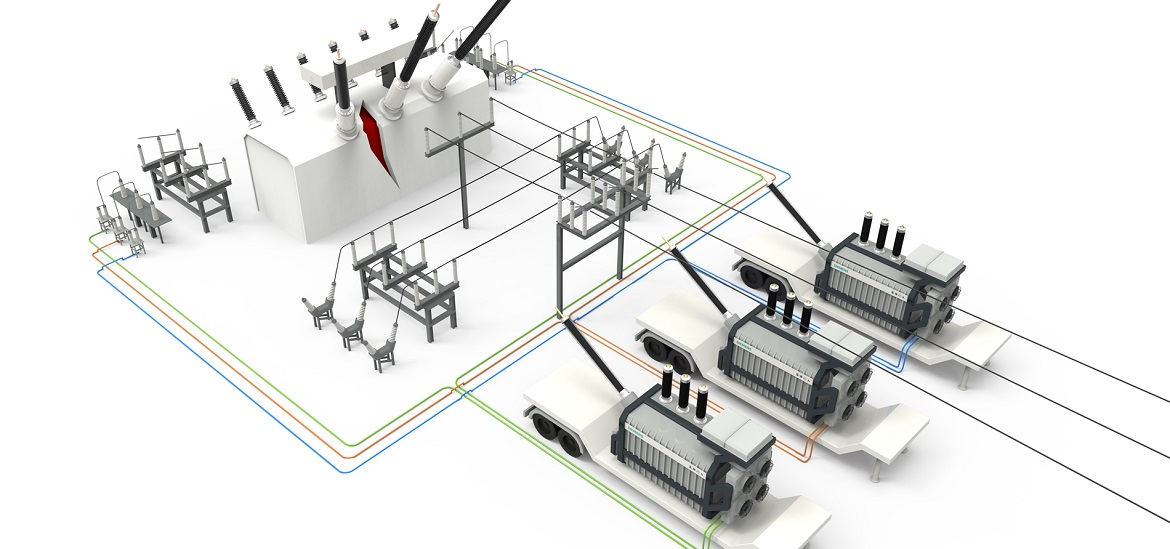 Siemens introduces on-demand mobile resilience transformer leasing