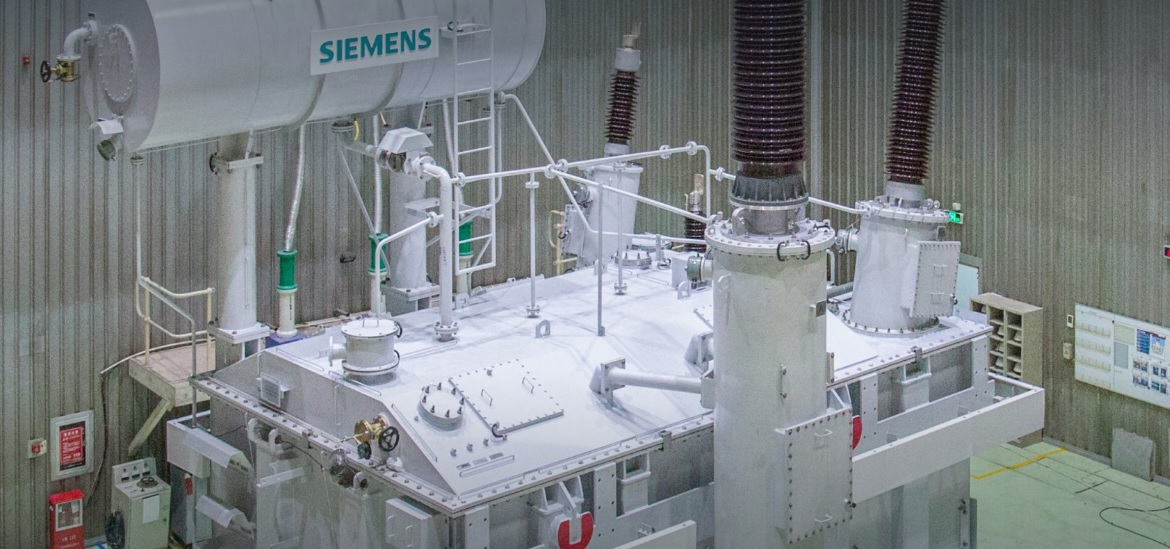 Siemens successfully tests one of the world's largest autotransformer technology