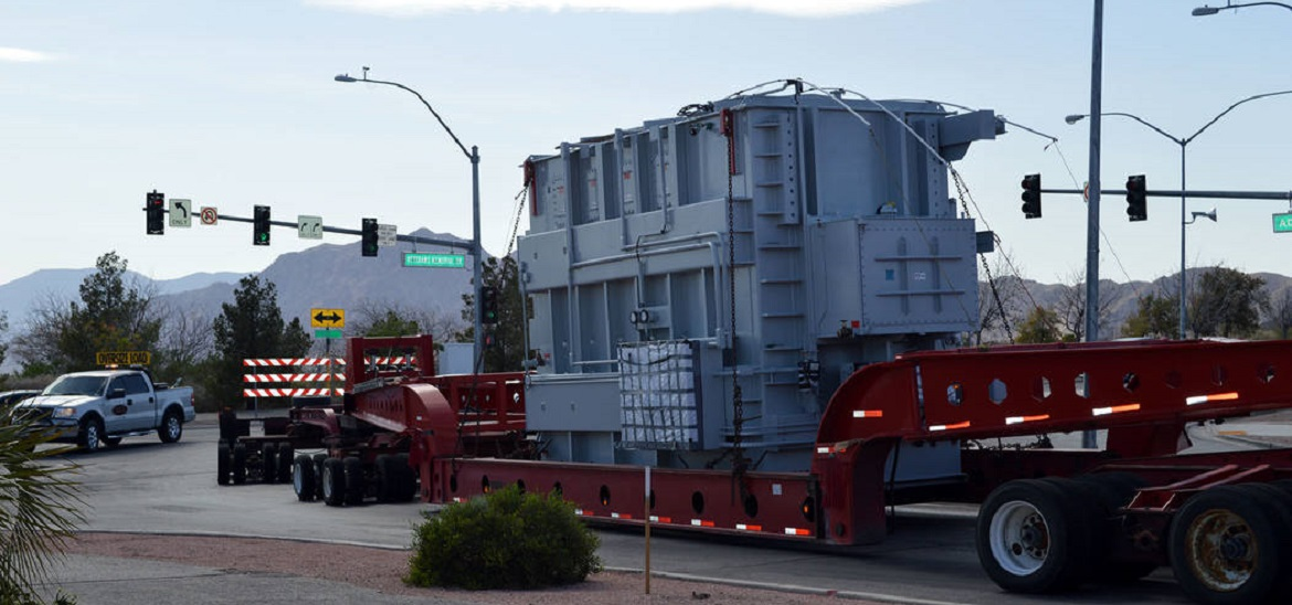 Leaky part delays transformer installation in Boulder City technology