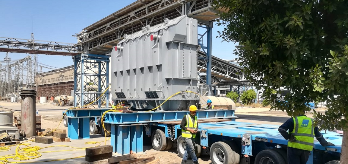 EGL successfully transports transformer for Nagaa Hammadi power project transformer technology