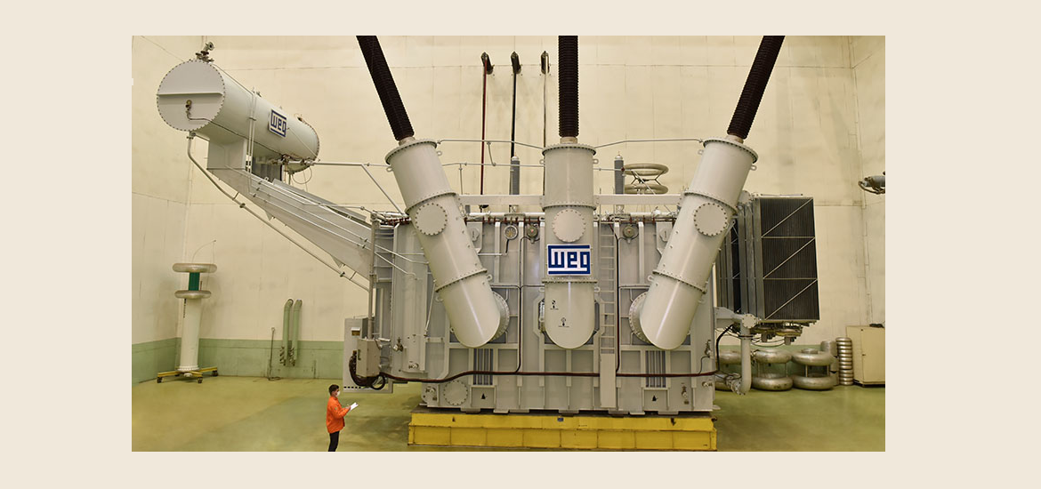 WEG's largest produced transformer to be used in Africa technology